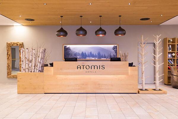 Atomis Hotel Dachau Munich Reception